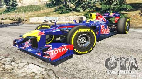 GTA 5 Red Bull TB8 [Sebastian Vettel] droite vue latérale