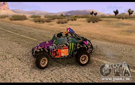VW Baja Buggy Gymkhana 6 für GTA San Andreas linke Ansicht