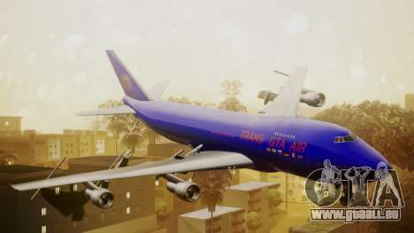 Boeing 747-200 Trans GTA Air für GTA San Andreas