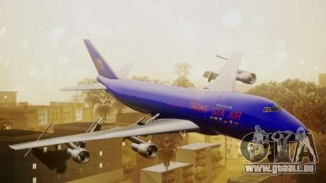 Boeing 747-200 Trans GTA Air pour GTA San Andreas