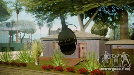 Atmosphere Grenade v4.3 für GTA San Andreas dritten Screenshot