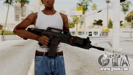 M4 from RE6 pour GTA San Andreas troisième écran