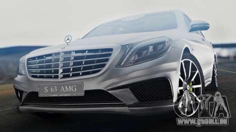 Mercedes-Benz W222 S63 AMG pour GTA San Andreas