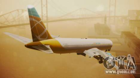 Boeing 767-300 Orbit Airlines für GTA San Andreas linke Ansicht