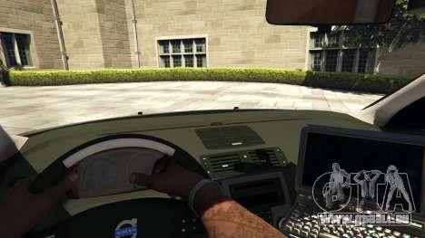 Volvo C30 Unmarked Police für GTA 5