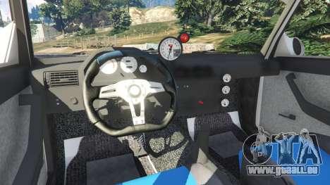 VAZ-2107 Redline 61 pour GTA 5