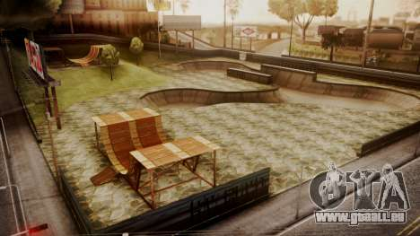 Skate Park with HDR Textures pour GTA San Andreas