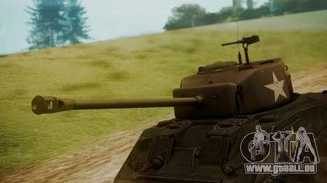 M4A3(76)W Sherman für GTA San Andreas rechten Ansicht