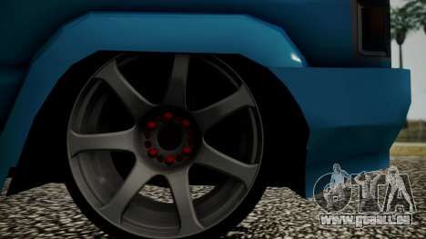 Toyota Kijang Tuned Stance pour GTA San Andreas vue arrière