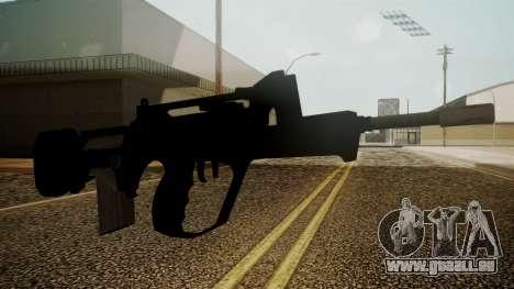 Famas Battlefield 3 für GTA San Andreas zweiten Screenshot