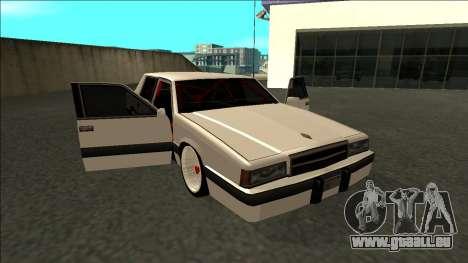 Willard Drift pour GTA San Andreas vue de côté