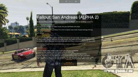 GTA 5 Fallout: San Andreas [.NET] ALPHA 2 deuxième capture d'écran