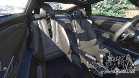 GTA 5 Pagani Huayra 2013 volant