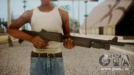 Combat Shotgun from RE6 pour GTA San Andreas troisième écran