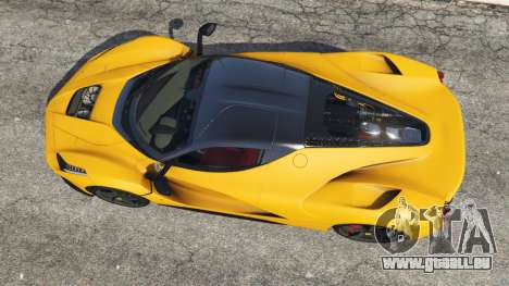 GTA 5 Ferrari LaFerrari 2015 hinten links Seitenansicht