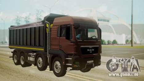 MAN TGS 8x4 Dumper pour GTA San Andreas