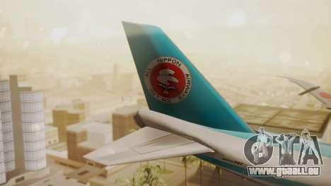 Boeing 747-100 All Nippon Airways für GTA San Andreas zurück linke Ansicht