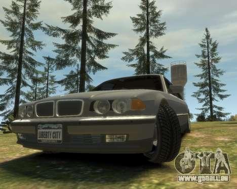 BMW L7 (750IL E38) 2001 pour GTA 4