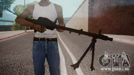 MG-34 Red Orchestra 2 Heroes of Stalingrad pour GTA San Andreas