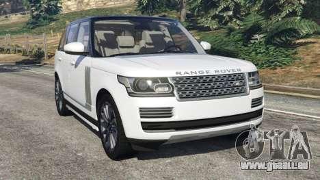 Range Rover Vogue 2013 v1.2 für GTA 5
