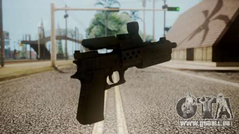 Silenced Pistol from RE6 pour GTA San Andreas deuxième écran
