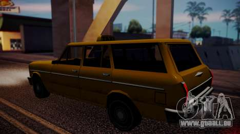 Taxi-Perennial für GTA San Andreas zurück linke Ansicht