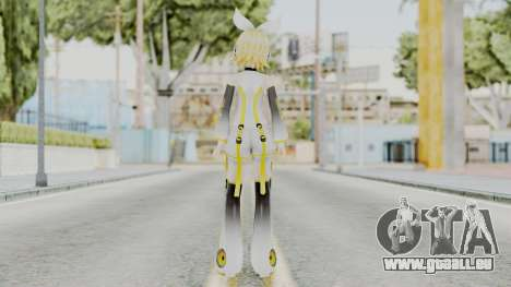 Project Diva F 2nd - Kagamine Rin Append pour GTA San Andreas troisième écran