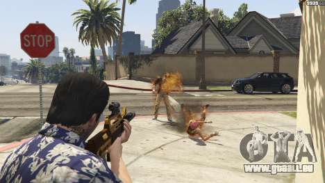 GTA 5 Lance-flammes pour GTA 5 deuxième capture d'écran