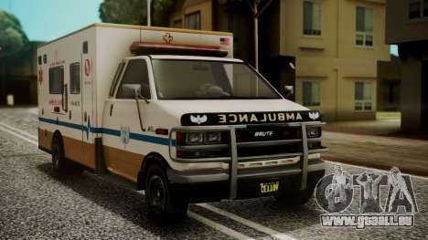 GTA 5 Brute Ambulance IVF für GTA San Andreas