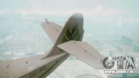Grumman G-21 Goose DQAYL pour GTA San Andreas sur la vue arrière gauche