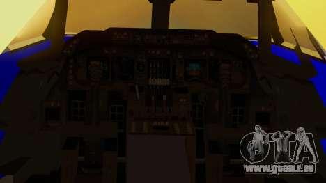Boeing 747-200 Trans GTA Air pour GTA San Andreas vue arrière
