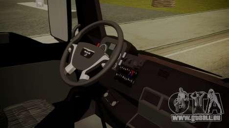MAN TGS 8x4 Dumper für GTA San Andreas rechten Ansicht