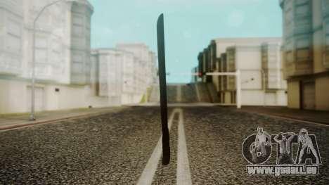 Machete from Friday the 13th Movie pour GTA San Andreas deuxième écran
