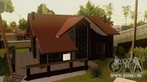 New Ryder House pour GTA San Andreas deuxième écran