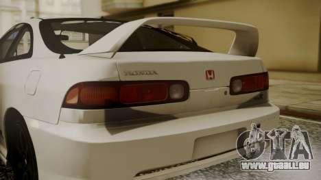 Honda Integra R Spoon pour GTA San Andreas vue arrière