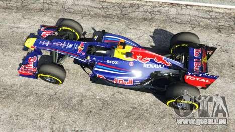 GTA 5 Red Bull TB8 [Sebastian Vettel] vue arrière