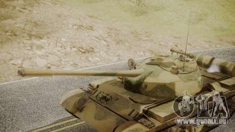 T-55 für GTA San Andreas rechten Ansicht