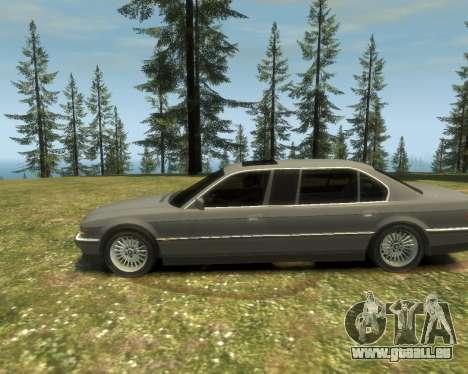 BMW L7 (750IL E38) 2001 pour GTA 4 est un droit