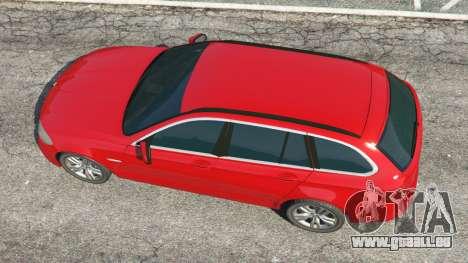 GTA 5 BMW 525d (F11) Touring 2015 (UK) vue arrière