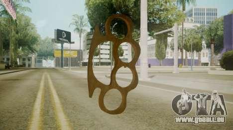 Atmosphere Brass Knuckles v4.3 pour GTA San Andreas deuxième écran