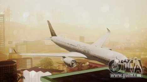 Airbus 350-900XWB Around The World pour GTA San Andreas