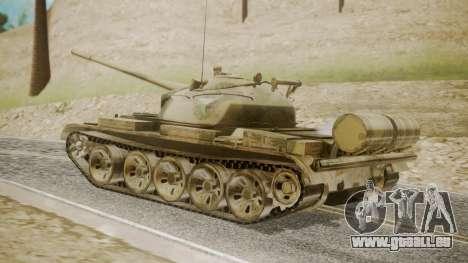 T-55 für GTA San Andreas linke Ansicht
