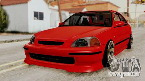 Honda Civic Sedan für GTA San Andreas
