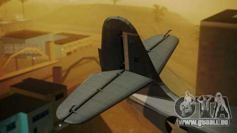 Grumman G-21A Goose pour GTA San Andreas sur la vue arrière gauche