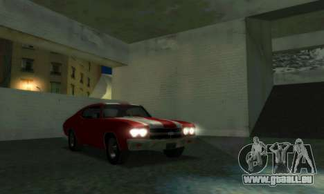 Chevrolet Chevelle SS [Winter] pour GTA San Andreas