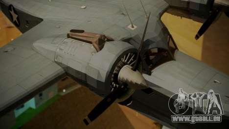 Grumman G-21A Goose pour GTA San Andreas vue de droite