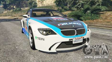 BMW M6 (E63) WideBody v0.1 [Volk Racing Wheel] pour GTA 5