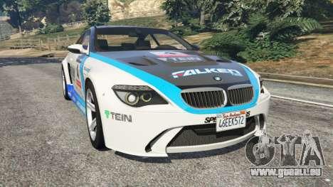 BMW M6 (E63) WideBody v0.1 [Volk Racing Wheel] pour GTA 5