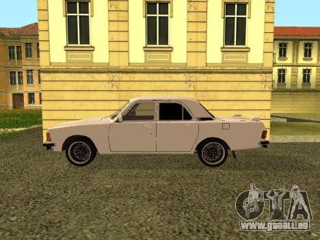 GAZ 3102 Volga für GTA San Andreas linke Ansicht