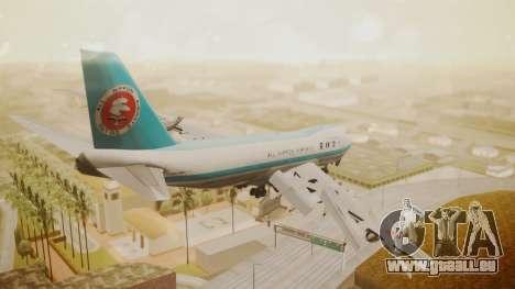 Boeing 747-100 All Nippon Airways für GTA San Andreas linke Ansicht